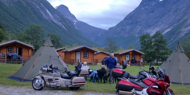 Norska Pärlor Tälttouring