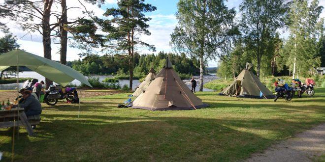 Norska Pärlor Tälttouring 2017
