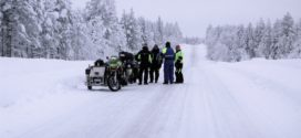 Wintertouring tires, studs and other equipment